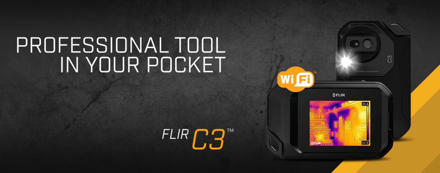 72d2c43aae Portable IR Camera   Flir C3